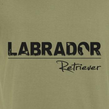 T-Shirt mit Labrador Motiven