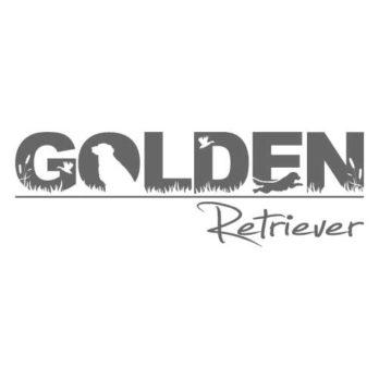 Golden Retriever Aufkleber 30