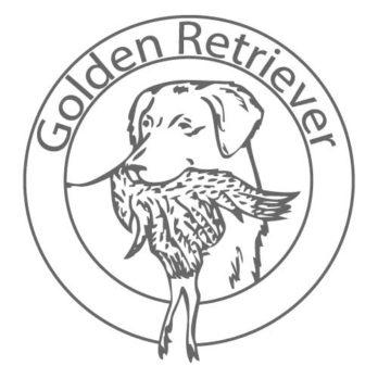 Golden Retriever Aufkleber 9