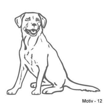 Labrador Retriever Aufkleber 12