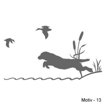 Labrador Retriever Aufkleber 13