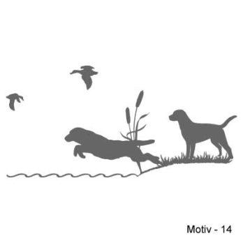 Labrador Retriever Aufkleber 14