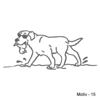 Labrador Retriever Aufkleber 15