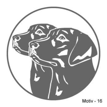 Labrador Retriever Aufkleber 16