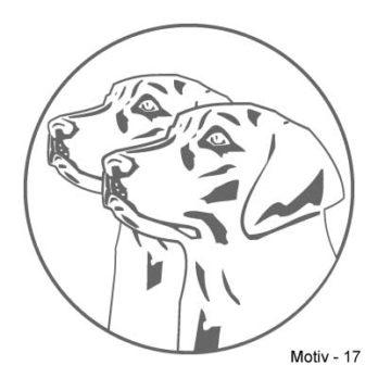 Labrador Retriever Aufkleber 17
