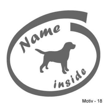 Labrador Retriever Aufkleber 18