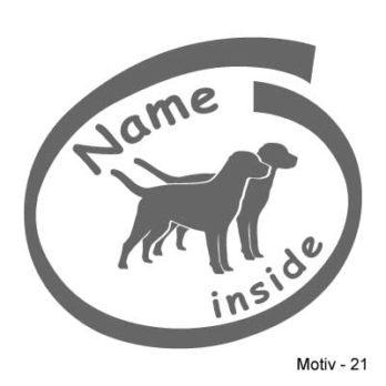 Labrador Retriever Aufkleber 21