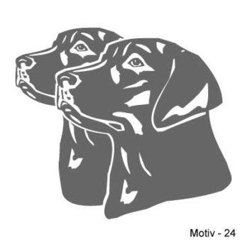 Labrador Retriever Aufkleber 24