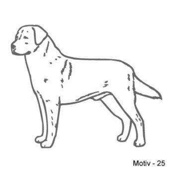 Labrador Retriever Aufkleber 25
