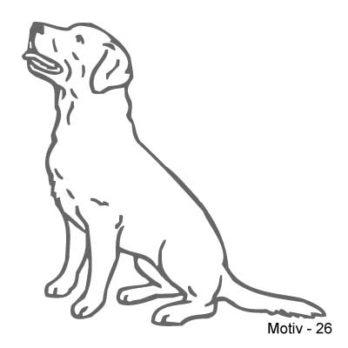 Labrador Retriever Aufkleber 26