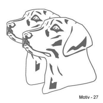 Labrador Retriever Aufkleber 27