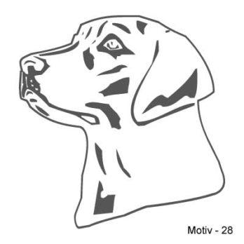 Labrador Retriever Aufkleber 28