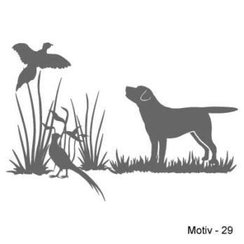 Labrador Retriever Aufkleber 29