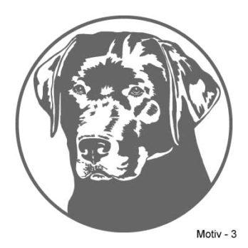 Labrador Retriever Aufkleber 3