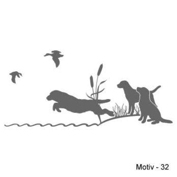 Labrador Retriever Aufkleber 32