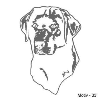Labrador Retriever Aufkleber 33
