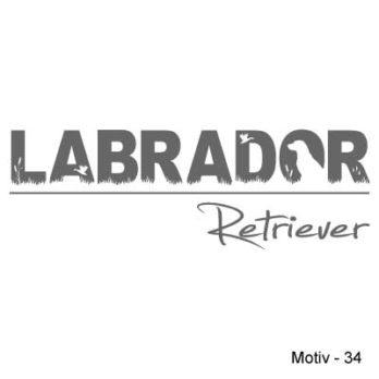 Labrador Retriever Aufkleber 34