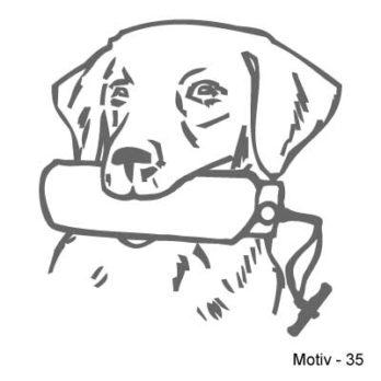 Labrador Retriever Aufkleber 35