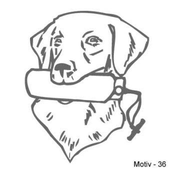 Labrador Retriever Aufkleber 36