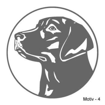 Labrador Retriever Aufkleber 4