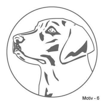 Labrador Retriever Aufkleber 6