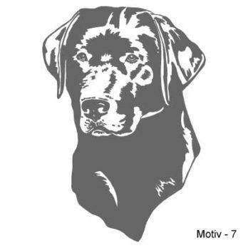 Labrador Retriever Aufkleber 7