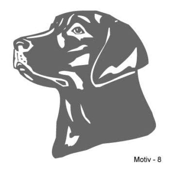 Labrador Retriever Aufkleber 8