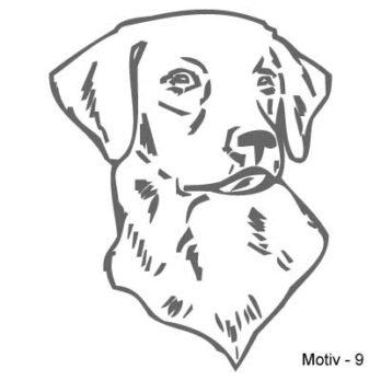 Labrador Retriever Aufkleber 9